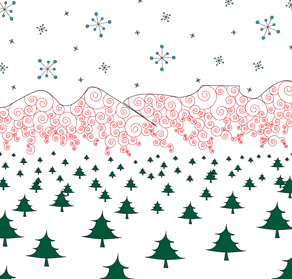 Holiday Wrapping Paper Design