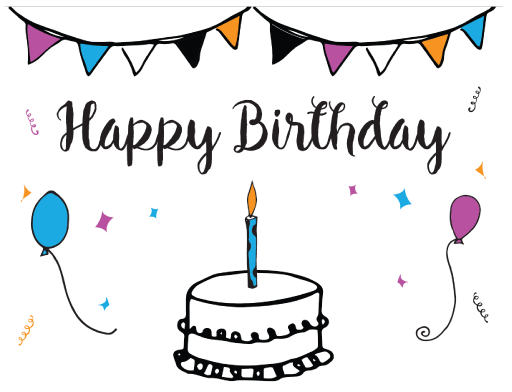 Free Printable Birthday Card Template