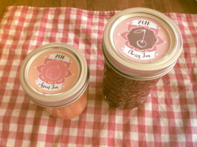 Fruit Preserve Labels