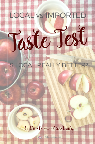 Taste Test Local vs Imported