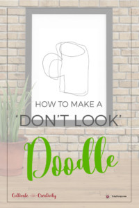How to make a 'don't look' doodle