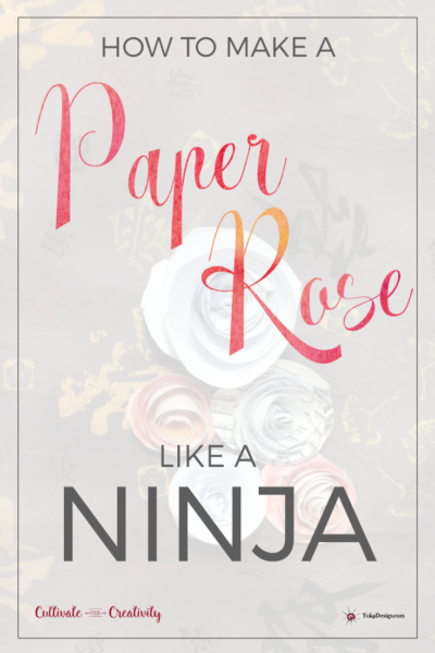 Make a Paper Rose Like a Ninja